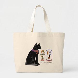La bolsa de asas jeroglífica del gato egipcio
