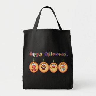 La bolsa de asas linda de Halloween