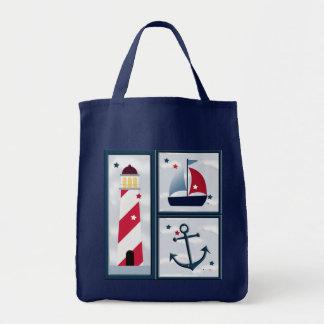 La bolsa de asas linda del diseño de la navegación