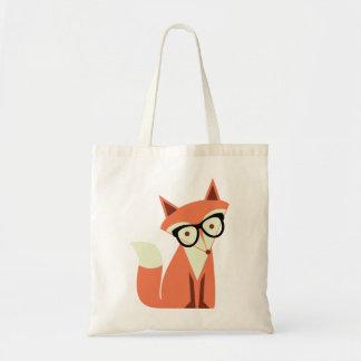 La bolsa de asas linda del presupuesto del Fox del