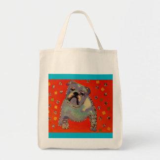 La bolsa de asas linda del ultramarinos del dogo