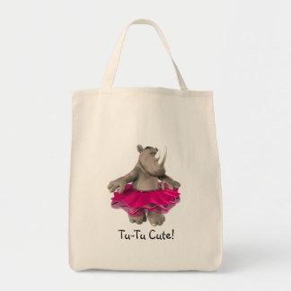 La bolsa de asas linda Tu-Tu