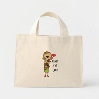 La bolsa de asas loca de señora Tiny del gato