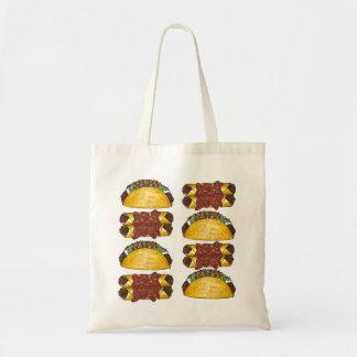 La bolsa de asas mexicana de la comida