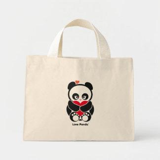 La bolsa de asas minúscula de Panda® del amor