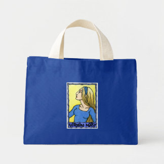La bolsa de asas minúscula del Virgen María