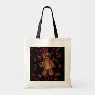 ¡La bolsa de asas mórbida del oso de peluche!