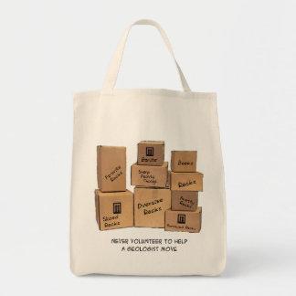 La bolsa de asas móvil del humor del geólogo