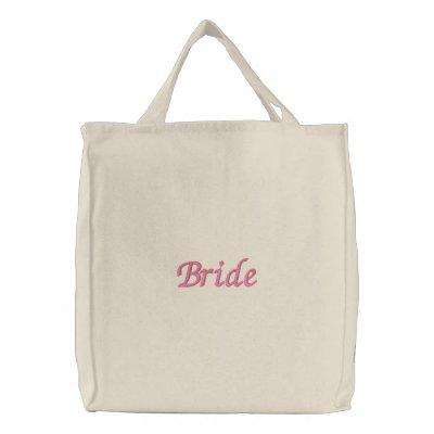 La bolsa de asas natural de la novia