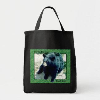 La bolsa de asas norteamericana 2 del oso negro