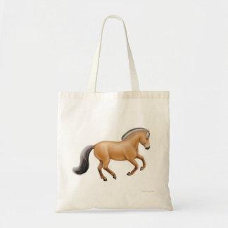 La bolsa de asas noruega del caballo del fiordo