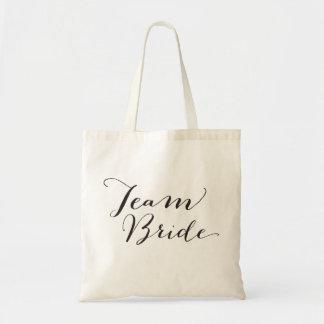 La bolsa de asas nupcial del boda del fiesta de la