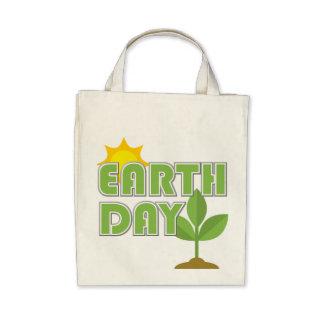 La bolsa de asas orgánica del Día de la Tierra