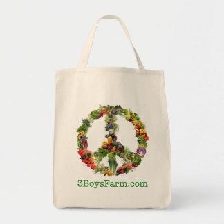 La bolsa de asas orgánica del favorito del algodón