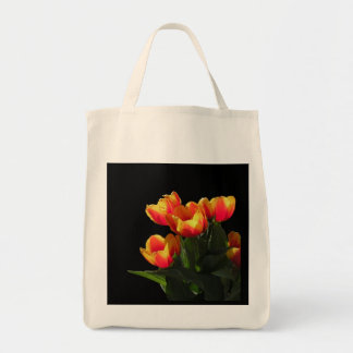 La bolsa de asas orgánica del tulipán de Rembrandt