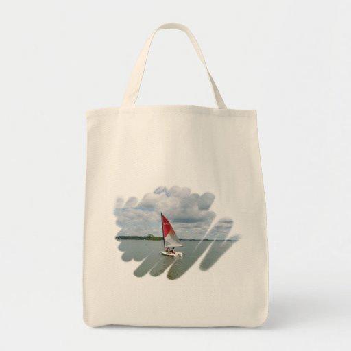 La bolsa de asas orgánica del ultramarinos de la