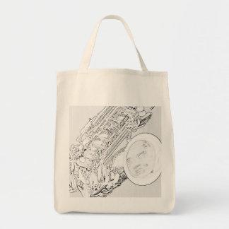 La bolsa de asas orgánica del ultramarinos del