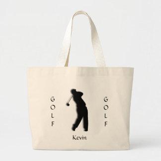 La bolsa de asas para hombre de encargo de la silu
