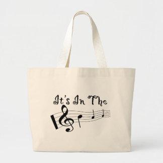 La bolsa de asas para los amantes de la música