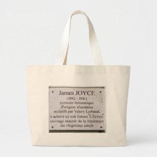 La bolsa de asas parisiense de la placa de James