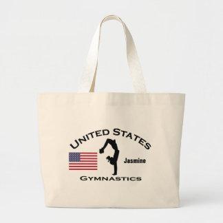 La bolsa de asas patriótica de la gimnasia