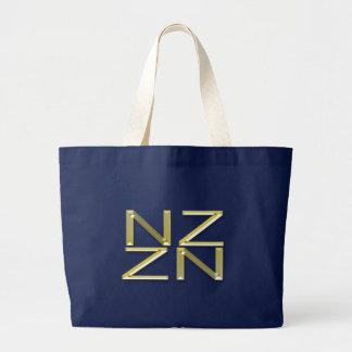 La bolsa de asas patriótica del símbolo de Nueva