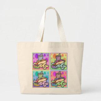 La bolsa de asas - perrito caliente del arte pop c
