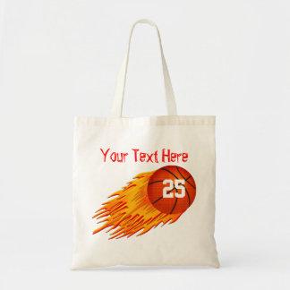 La bolsa de asas personalizada baloncesto de la