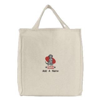 La bolsa de asas personalizada de Dalmation