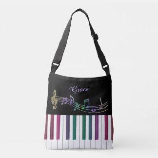 La bolsa de asas personalizada de la música del
