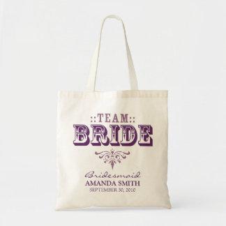 La bolsa de asas personalizada del banquete de bo