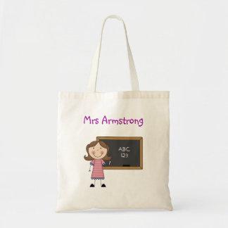 La bolsa de asas personalizada del profesor -