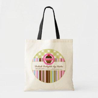 La bolsa de asas personalizada panadería de la mag