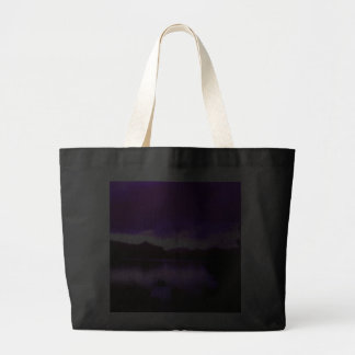 La bolsa de asas púrpura de los cielos