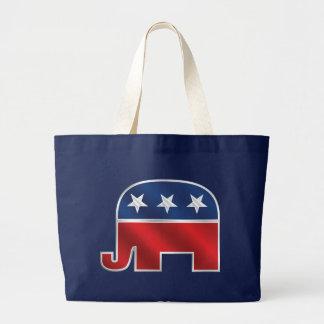 La bolsa de asas republicana del elefante