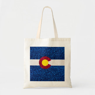 La bolsa de asas reutilizable de la bandera de