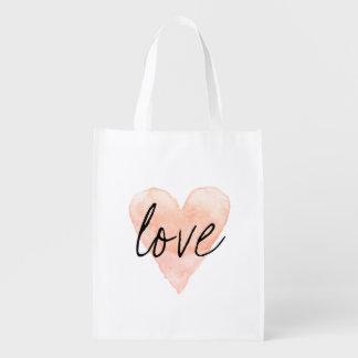 La bolsa de asas reutilizable de las compras del bolsa para la compra