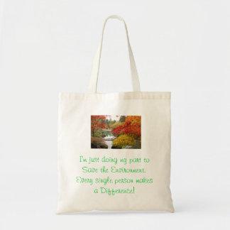La bolsa de asas reutilizable elegante de la lona
