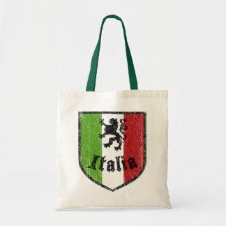 La bolsa de asas reutilizable italiana del vintage