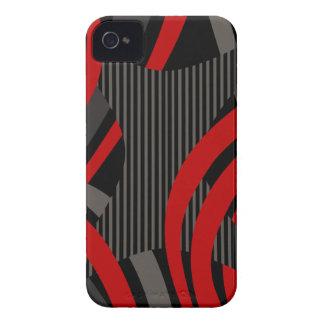 La bolsa de asas roja atada con alambre carcasa para iPhone 4
