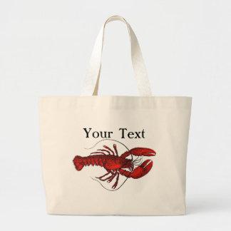 La bolsa de asas roja de la langosta 3