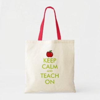 La bolsa de asas roja el del profesor de la
