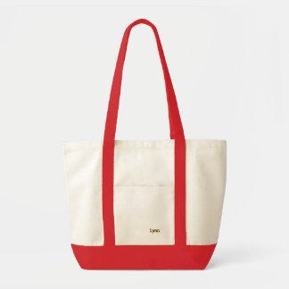 La bolsa de asas roja para Lynn