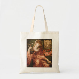 La bolsa de asas romana del jugador de la arpa de