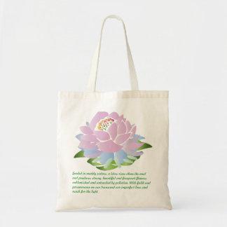 La bolsa de asas rosada de Lotus