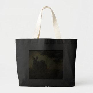 La bolsa de asas salvaje de la lona de los conejos
