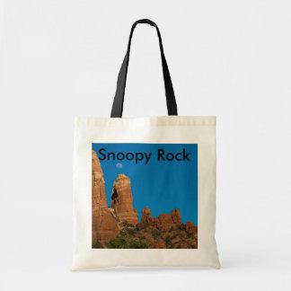 La bolsa de asas Snoopy 3949 de la roca