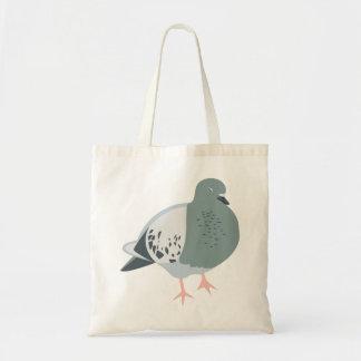 La bolsa de asas soñolienta de la paloma