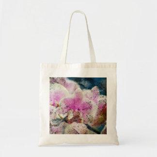 la bolsa de asas sucia de la orquídea