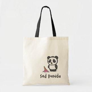 La bolsa de asas triste de la panda